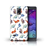 Stuff4 Phone Case for Samsung Galaxy Note 4 Cartoon