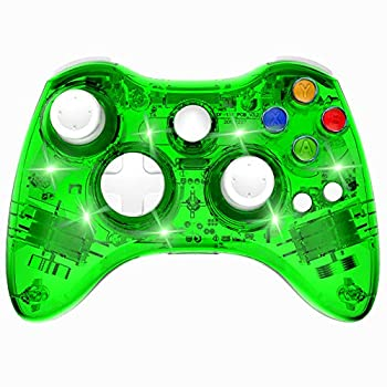 xbox 360 green controllers