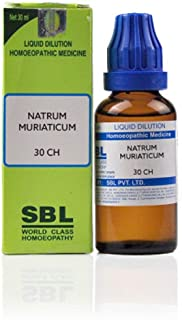 SBL Homeopathy Natrum Muriaticum (30 ML) (Select Potency) (30 CH)