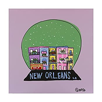 Brian Nash  New Orleans Snow Globe  Canvas Art
