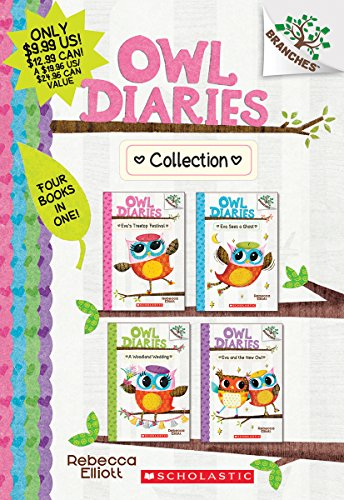 Owl Diaries Collection (Books 1-4): A Branches Book