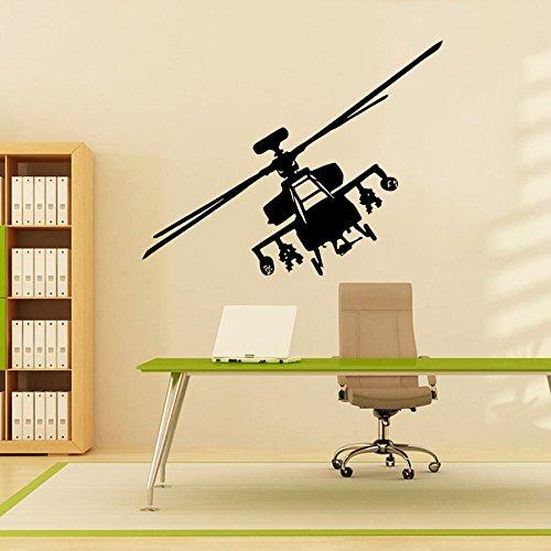 Sticker Mural Autocollant De Vinyle Stickers Art Intérieure Décor Militaires Aéronefs Plan L'air Avion Combattant Avion Copter Hélicoptère Aviation An258