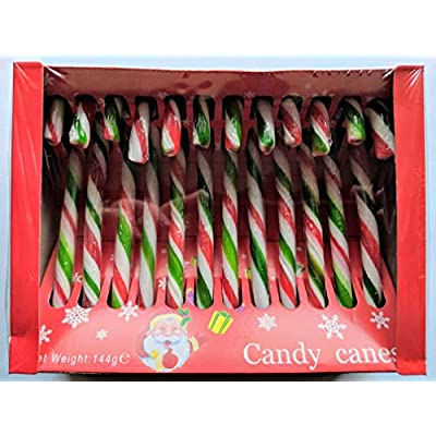 red & white candy canes box of 12 x 4 boxes (48 canes), decoration & gift supplies for christmas Red & White Candy Canes Box of 12 x 4 Boxes (48 canes), Decoration & Gift Supplies for Christmas 51XW3zpGAHL
