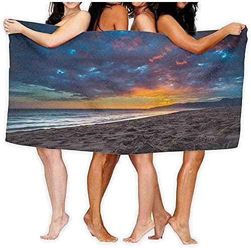 Toalla de Playa Toalla Beautiful Cloud Toalla de baño Yoga Body Wrap 80 × 130cm