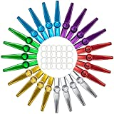 Best Kazoos - Foraineam 24-Pack Metal Kazoos with 24 Pcs Kazoo Review