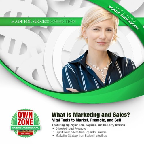 What Is Marketing and Sales? audiobook cover art