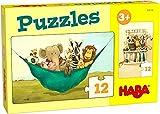 HABA- Puzzles El León UDO Infantil, Multicolor (306166)