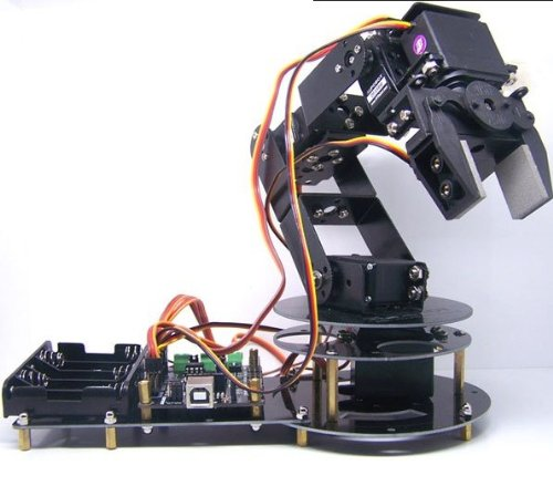 Gowe 6 DOF Programmable Clamp Robot Arm Kit
