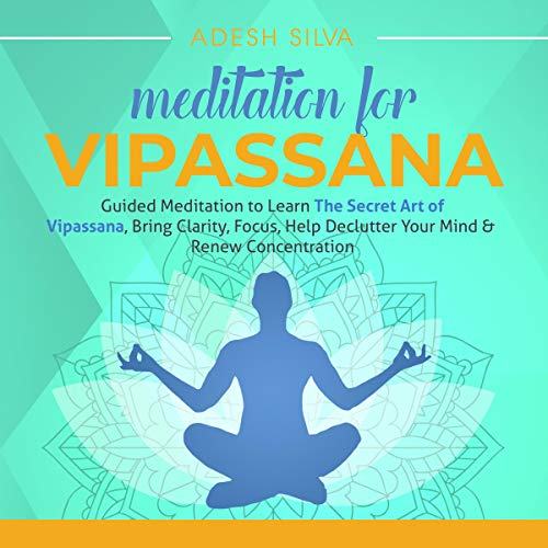 Meditation for Vipassana  By  cover art