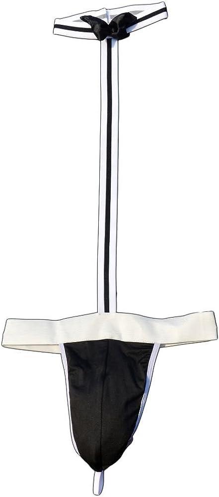 GO2SEXY Mens Borat Mankini Waiter G String Thongs T-Back Underwear