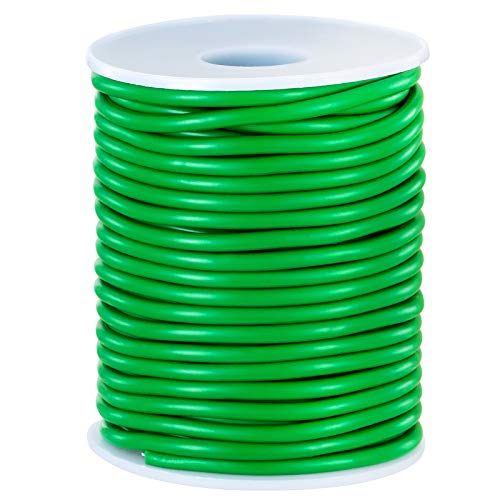 Soft Plant Wire, 65.6' Reusable Rubber Twist Ties Heavy Duty Garden Wire for Plants, Soft Twist Plant Tie to Support Plant Vines, Stems & Stalks and for Home Organization (65.6 feet/20 Meters)