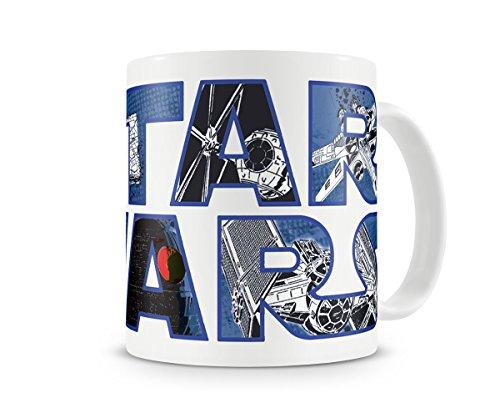 Offizielles Lizenzprodukt Star Wars Logo Kaffeetasse, Kaffeebecher