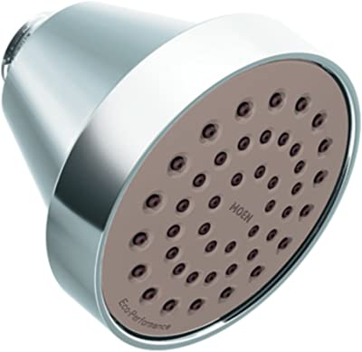 Moen 6399EP Collection One-Function Eco-Performance Shower Head, 1, Chrome