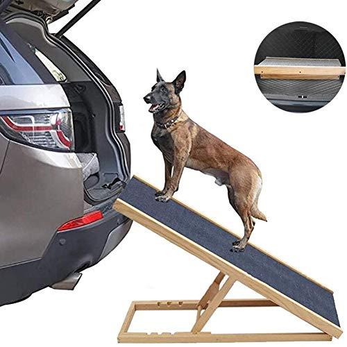 Faltbare Tragbare Hochleistungs-Autozugangs-Hunderampe, für Verletzte, Alten, Haustiere mit Behinderung, 100 X 40 X (30-40-50-60) cm (Size : 100x40x(30-40-50-60) cm)