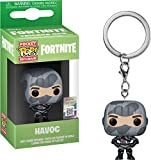 Last Level- Pocket Llavero Pop Fortnite. Havoc, Multicolor (Funko 1), Color, Modelo Surtido...