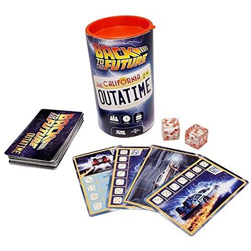 SD Games- Back to The Future: Outatime, Juego de Dados (SDGBTTFOU01)