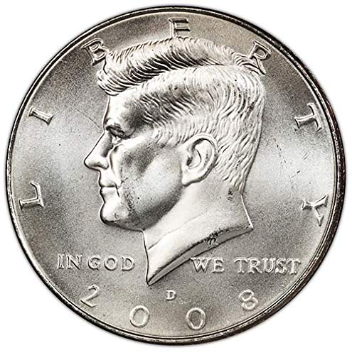 2008 D Satin Finish Kennedy Half Dollar Choice Uncirculated US Mint