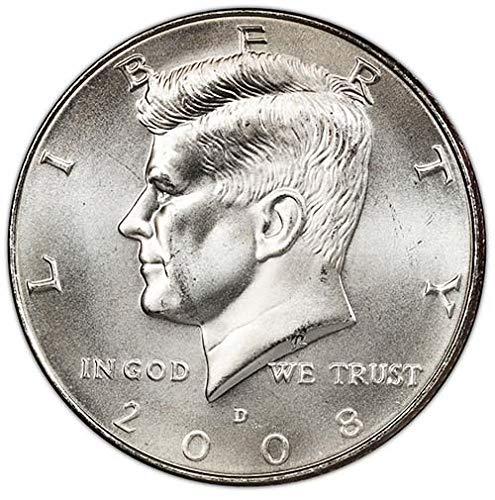 2008-D-Satin-Finish-Kennedy-Half-Dollar-Choice-Uncirculated-US-Mint