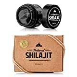 Natural Shilajit Resin (20 Grams) - Top Quality Source of Organic, Plant-Based Nutrients for Energy, Focus and Vitality.