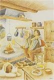 300ピース ジグソーパズル アルプスの少女ハイジ やぎのおちちのチーズ (26x38cm)