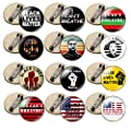 Cooluckday Black Lives Matter Pins Pinback Buttons Badges Pins I Can't Breathe Pins 12 Pcs