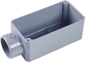 Caixa de Derivação Fixo Com Rosca Tipo E 1/2'' 4x2 - 56102001 - TRAMONTINA - Caixa de Derivação Fixo Com Rosca Tipo E 1/...