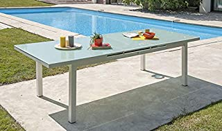 Amazon.fr : table extensible verre : Jardin