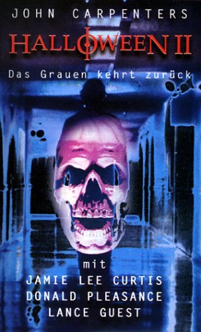 Halloween 2 - Das Grauen kehrt zurück [VHS]