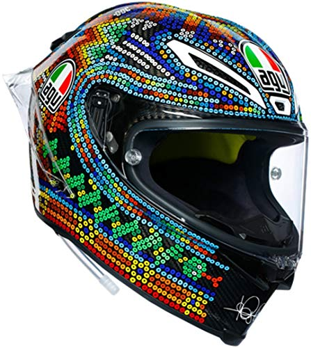 AGV Pista GP R Valentino Rossi Winter Test 2018 Limited Edition Carbon Casco ML (59/60)