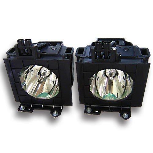 Alda PQ-Premium, Beamerlampe / Ersatzlampe für PANASONIC PT-D5600E (DUAL) Projektoren, Lampe mit Gehäuse