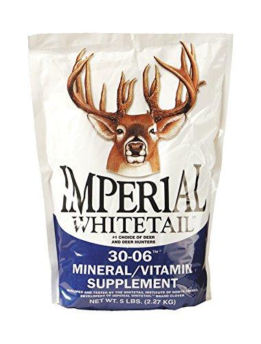 Whitetail Institute 30-06 Mineral/Vitamin Deer Mineral Supplement, 5-Pound, Original (MIN5)