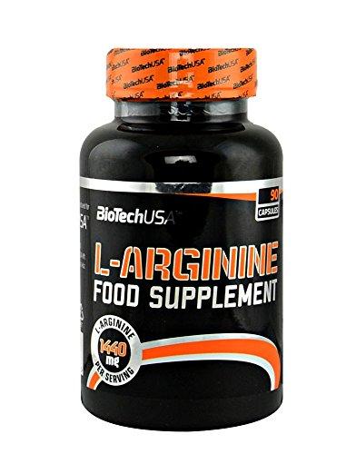 Biotech USA L y Arginine Nitrox y Energizante, 77.2 g