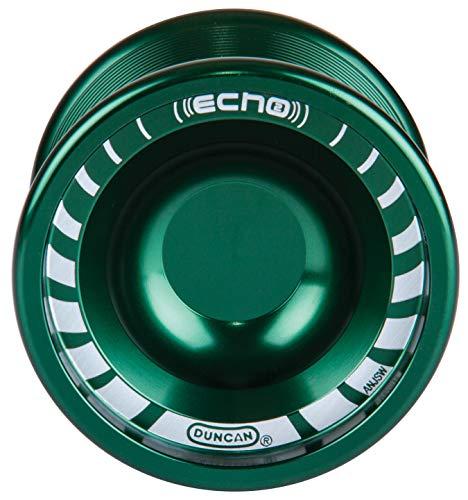 Duncan Toys Echo 2 Yo-Yo [Green], Unresponsive Pro Level Yo-Yo, Concave Bearing