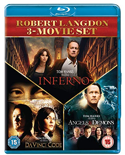 The Angels & Demons / Da Vinci Code / Inferno - Set [Blu-ray] [UK Import]
