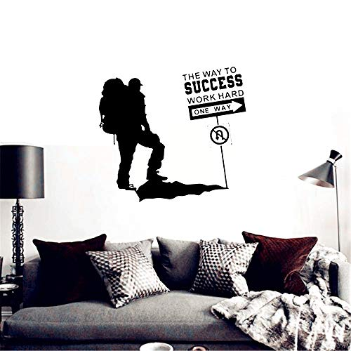 Wandtattoo Wohnzimmer Climbing Sticker Climbers Decal Extreme Sports Posters Parede Decor for yoga room