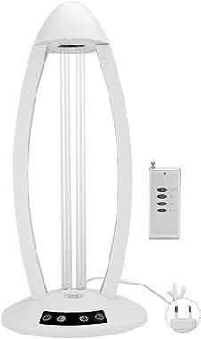 Purificador de Aire Air Purifiers Lámpara Ultravioleta De Lámpara UV Portátil con Control Remoto para Eliminar ácaros, Bacter
