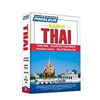 Pimsleur Thai Basic Course - Level 1 Lessons 1-10 CD: Learn to Speak and Understand Thai with Pimsleur Language Programs by Pimsleur(2006-02-01)