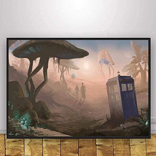 Puzzles Puzzles De Madera 1000 Piezas Puzzles Intelectuales Doctor Who Puzzles para Adultos Juego De Juguetes Casuales 50X75Cm,Jigsaw Puzzle