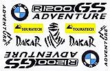 BMW GS Adventure Dakar Decals Stickers Motorcycle Vinyl Graphic Set