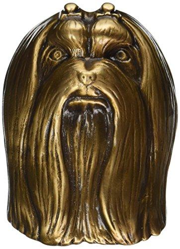 Malteser Hund Türklopfer–Bronze