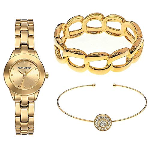 Mark Maddox MF0008-27 - Reloj, color dorado