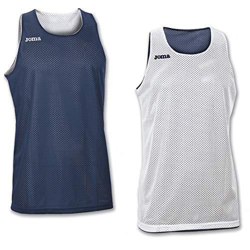 Joma Erwachsene Basketball Trikot 100050.300, blau/Marino, M