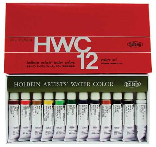 Holbein Wc W401 Set of 12 5Ml Tubes