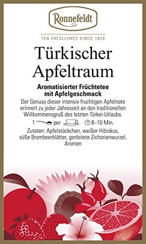 Ronnefeldt - Türkischer Apfeltraum - Aromatisierter Früchtetee - 100g - loser Tee