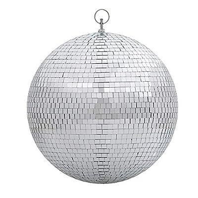 "Yescom 12"" Mirror Glass Ball Disco DJ Dance Decorative Stage Lighting Home Party Business Window Display Decoration"
