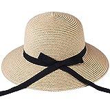 UKKD Sombreros Mujer Sombrero para El Sombrero De Playa del
