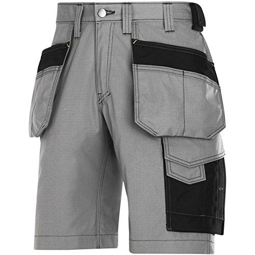 Snickers Handwerker Shorts HP Grau Gr. 48