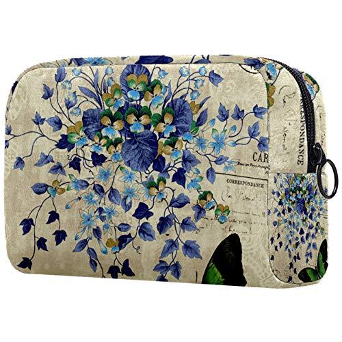 Bolsa de maquillaje personalizable, portátil, para mujer, bolso de mano, organizador de viaje,...