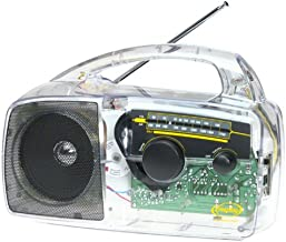 Freeplay FPR2SC Clear Translucent Solar Radio