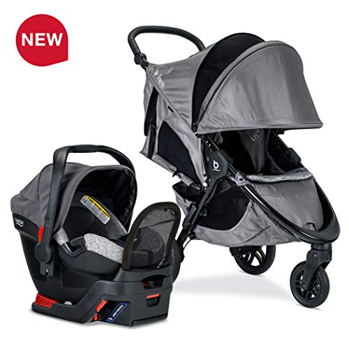 Read About Britax B-Free Sport Travel System with Endeavours Infant Car Seat - Birth to 65 Pounds, A...
